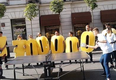 #Ping-Pongowy Nowy Świat – ruszają kolejne uliczne rozgrywki w centrum Warszawy
