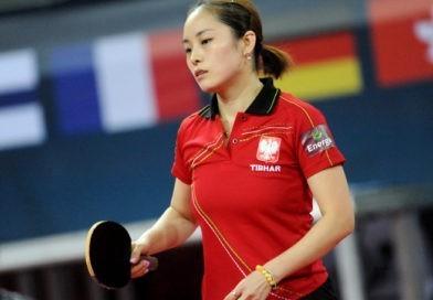 Li Qian w turnieju głównym Hongkong Open
