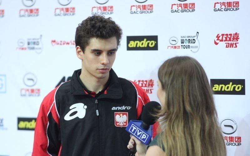 Ranking ITTF: Dyjas awansował na 43. miejsce!