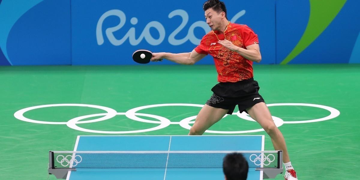 Ma Long i Ding Ning mistrzami olimpijskimi!