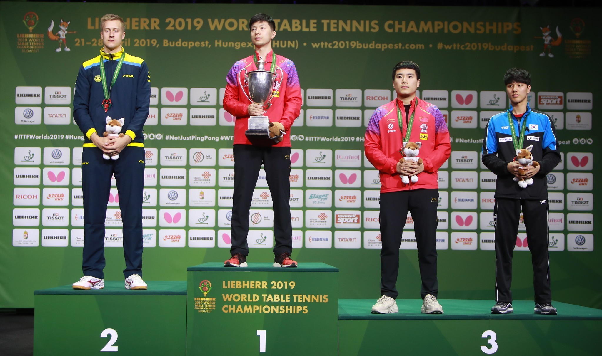 Ma Long i Liu Shiwen mistrzami świata!