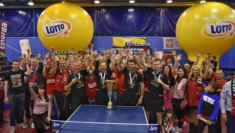 Dartom Bogoria mistrzem Polski!