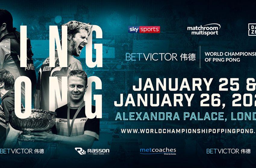 Mistrzostwa świata w ping pongu na żywo w SportKlubie