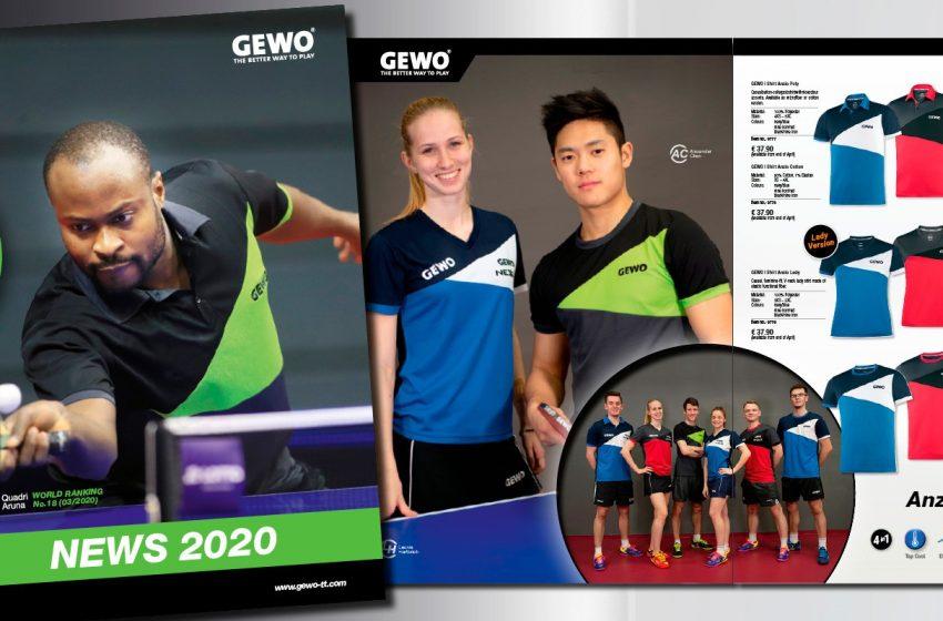 GEWO – nowa kolekcja na sezon 2020/2021